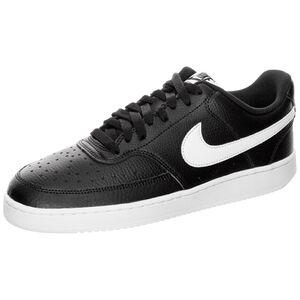 Court Vision Low Sneaker Damen, schwarz / weiß, zoom bei OUTFITTER Online