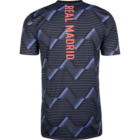Real Madrid Pre-Match T-Shirt Herren, blau / schwarz, zoom bei OUTFITTER Online