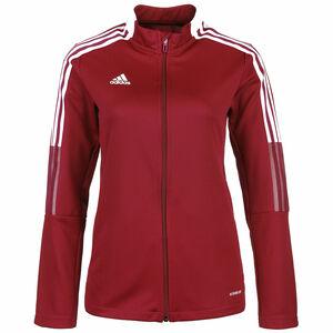 Tiro 21 Trainingsjacke Damen, rot / weiß, zoom bei OUTFITTER Online