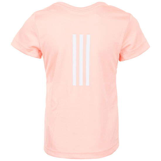 Cool Trainingsshirt Kinder, rosa / weiß, zoom bei OUTFITTER Online
