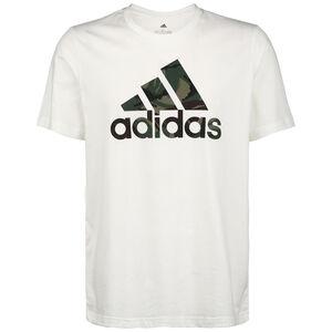 Camo T-Shirt Herren, weiß / grün, zoom bei OUTFITTER Online