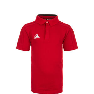 Condivo 18 Poloshirt Kinder, rot / weiß, zoom bei OUTFITTER Online