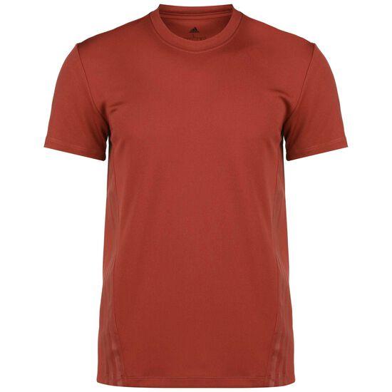 AEROREADY 3-Streifen Trainingsshirt Herren, rot, zoom bei OUTFITTER Online
