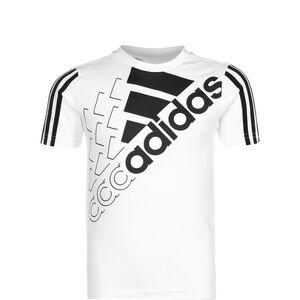 Logo T1 T-Shirt Kinder, weiß / schwarz, zoom bei OUTFITTER Online