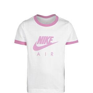 Air Logo Ringer T-Shirt Kinder, weiß / rosa, zoom bei OUTFITTER Online