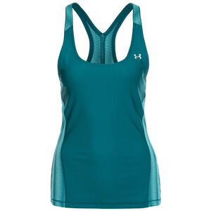 HeatGear Armour Trainingstank Damen, petrol, zoom bei OUTFITTER Online
