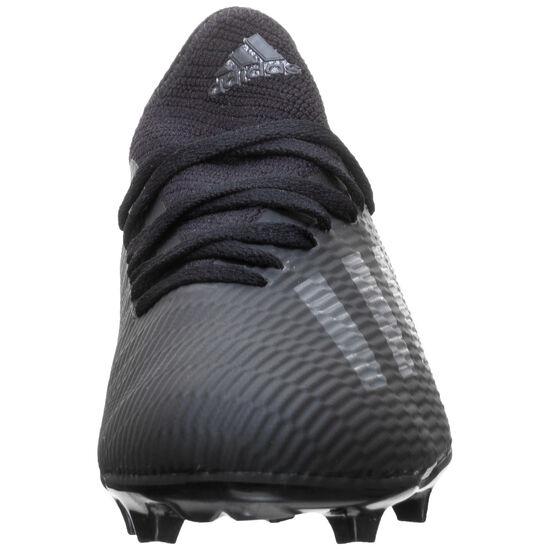 X 19.3 Fußballschuh Kinder, schwarz / silber, zoom bei OUTFITTER Online