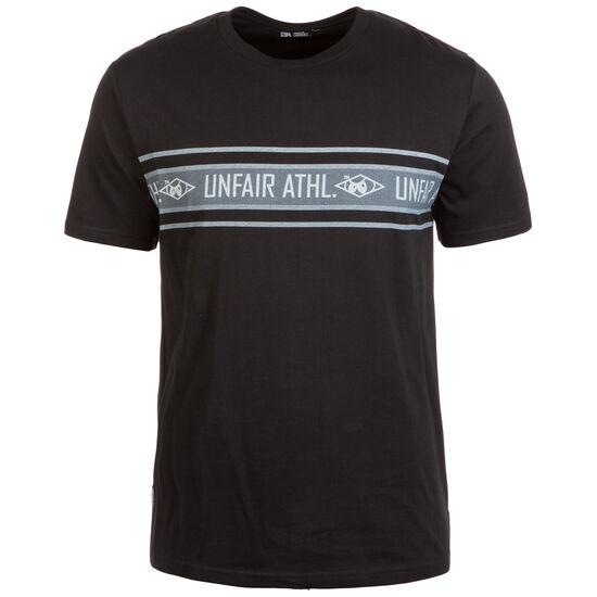 Athletic Striped T-Shirt Herren, schwarz / grau, zoom bei OUTFITTER Online