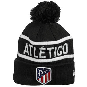 Atletico Madrid Wordmark Cuff Knit Bobble Beanie, , zoom bei OUTFITTER Online