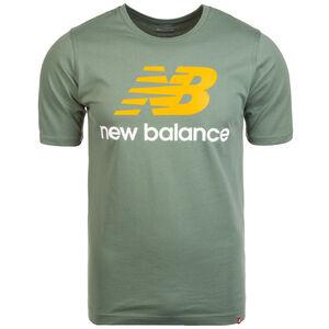 Essentials Stacked Logo T-Shirt Herren, grün, zoom bei OUTFITTER Online