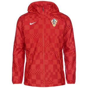 Kroatien All Weather Lite Regenjacke EM 2021 Herren, rot / weiß, zoom bei OUTFITTER Online