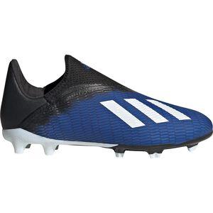 X 19.3 Laceless FG Fußballschuh Kinder, blau / weiß, zoom bei OUTFITTER Online