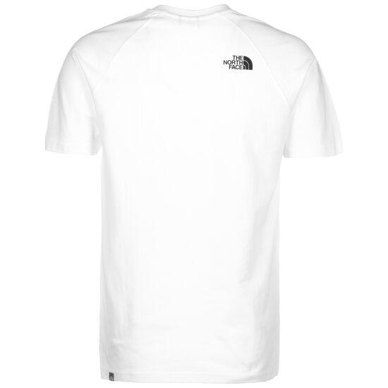 Raglan Red Box T-Shirt Herren, weiß / schwarz, zoom bei OUTFITTER Online