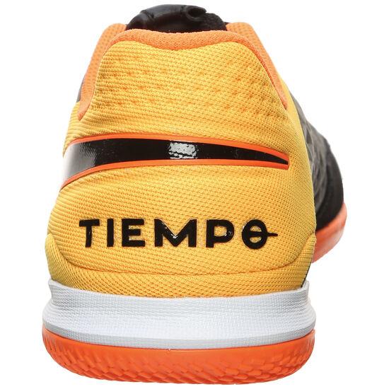 Tiempo Legend 8 Academy Indoor Fußballschuh Herren, schwarz / orange, zoom bei OUTFITTER Online