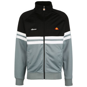 Rimini Track Trainingsjacke Herren, schwarz / weiß, zoom bei OUTFITTER Online