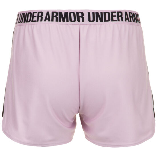 HeatGear Play Up 2.0 Trainingsshort Damen, rosa / schwarz, zoom bei OUTFITTER Online