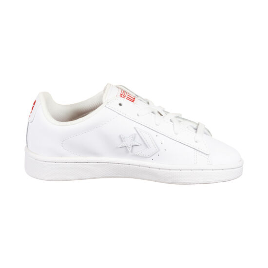 Pro Leather OX Sneaker Kinder, weiß / rot, zoom bei OUTFITTER Online