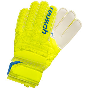Fit Control SG Finger Support Torwarthandschuh, neongelb / blau, zoom bei OUTFITTER Online