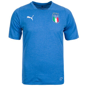 FIGC Italien Casual Performance T-Shirt Herren, blau, zoom bei OUTFITTER Online
