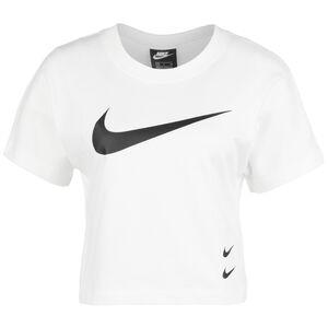 Sportswear Swoosh T-Shirt Damen, weiß, zoom bei OUTFITTER Online