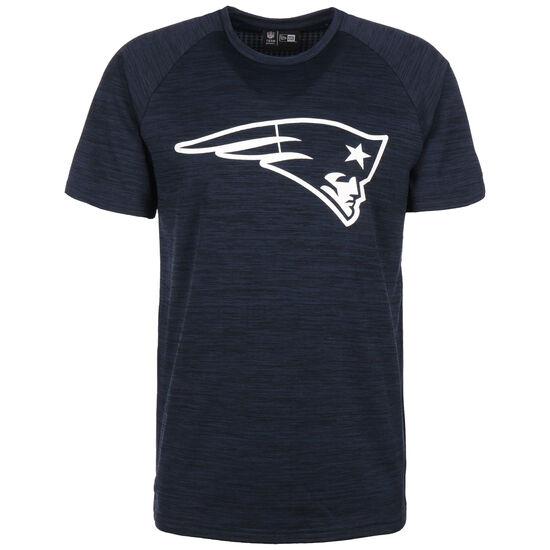 NFL New England Patriots Engineered Raglan T-Shirt Herren, dunkelblau / weiß, zoom bei OUTFITTER Online