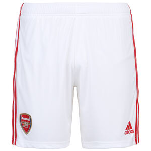 FC Arsenal Short Home 2019/2020 Herren, weiß / rot, zoom bei OUTFITTER Online