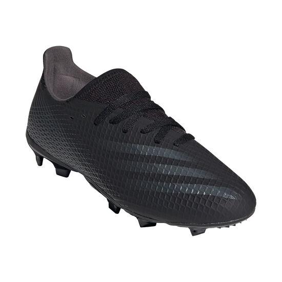 X Ghosted.3 FG Fußballschuh Kinder, schwarz / dunkelgrau, zoom bei OUTFITTER Online
