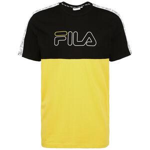 Jopi Blocked Tape T-Shirt Herren, schwarz / gelb, zoom bei OUTFITTER Online