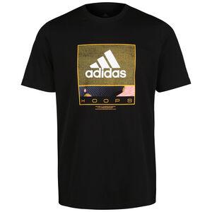 Future Hoop T-Shirt Herren, schwarz, zoom bei OUTFITTER Online