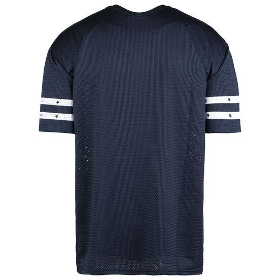 NFL New England Patriots Stripe Sleeve Oversized T-Shirt Herren, blau / weiß, zoom bei OUTFITTER Online
