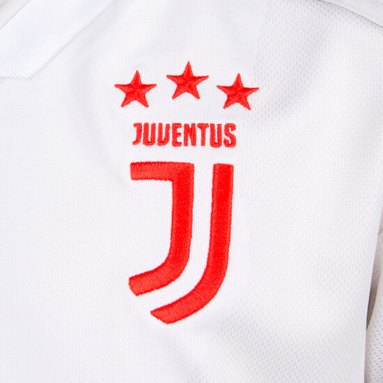 Juventus Turin Trikot Away 2019/2020 Kinder, weiß / rot, zoom bei OUTFITTER Online
