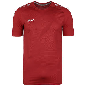 Premium Fußballtrikot Herren, rot / weiß, zoom bei OUTFITTER Online