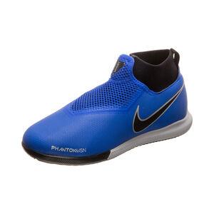 Phantom Vision Academy DF Indoor Fußballschuh Kinder, blau / schwarz, zoom bei OUTFITTER Online