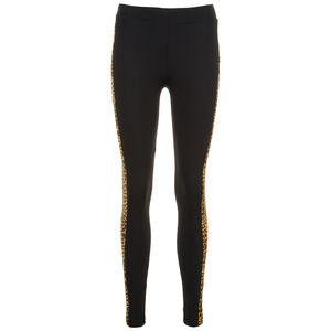 Side Striped Pattern Leggings Damen, schwarz / hellbraun, zoom bei OUTFITTER Online