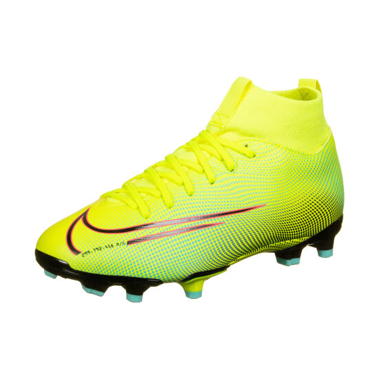 Mercurial Superfly 7 Academy MDS MG Fußballschuh Kinder, gelb / grün, zoom bei OUTFITTER Online