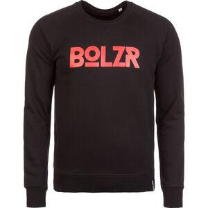 Sweater Sweatshirt Herren, schwarz / rot, zoom bei OUTFITTER Online
