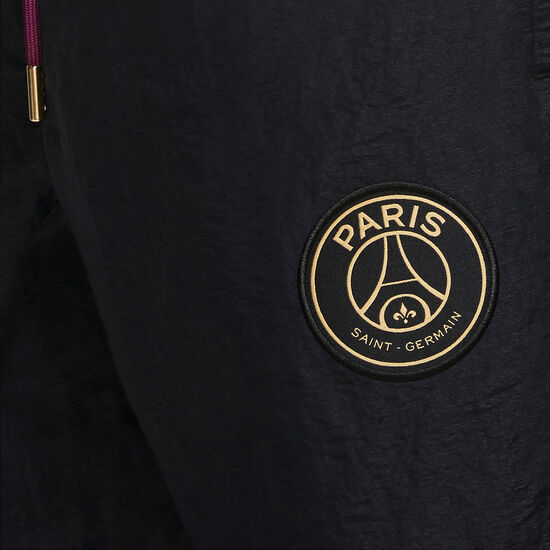 Paris St.-Germain Anthem Trainingshose Herren, schwarz / bordeaux, zoom bei OUTFITTER Online