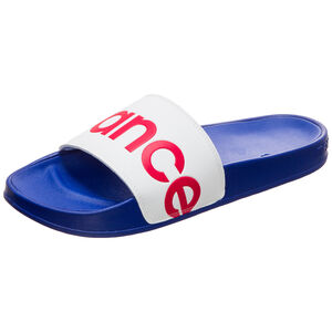 SMF 200 Slide Badesandale, blau / rot, zoom bei OUTFITTER Online