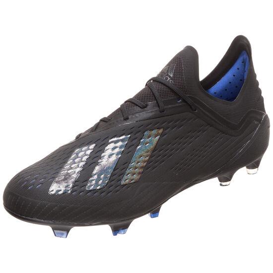X 18.1 FG Fußballschuh Herren, schwarz / blau, zoom bei OUTFITTER Online