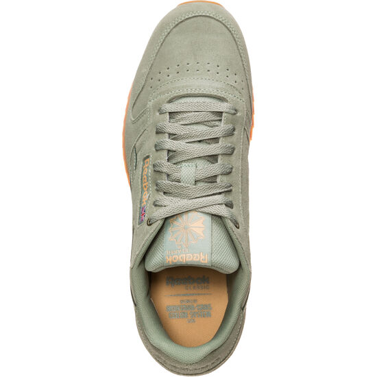 Classic Leather MU Sneaker, oliv / orange, zoom bei OUTFITTER Online