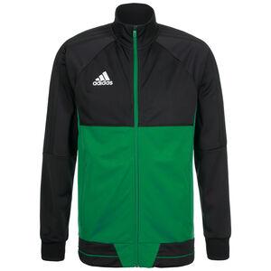 Tiro 17 Trainingsjacke Herren, schwarz / grün, zoom bei OUTFITTER Online