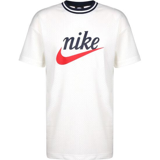 Mesh Graphic T-Shirt Herren, weiß / rot, zoom bei OUTFITTER Online