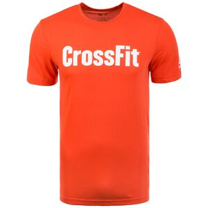 CrossFit F.E.F. Graphic Trainingsshirt Herren, rot / weiß, zoom bei OUTFITTER Online