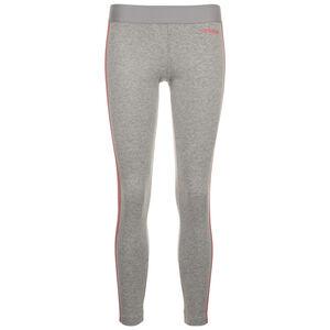Essentials Linear Trainingstight Damen, dunkelgrau / pink, zoom bei OUTFITTER Online