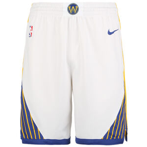 NBA Golden State Warriors Icon Edition Swingman Short Herren, weiß / blau, zoom bei OUTFITTER Online