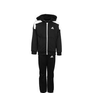Aeroready Trainingsanzug Kinder, schwarz / weiß, zoom bei OUTFITTER Online
