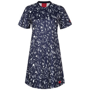 Frankreich Jersey Kleid Damen, blau / weiß, zoom bei OUTFITTER Online