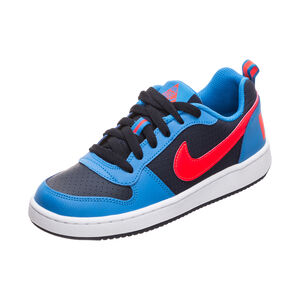Court Borough Low Sneaker Kinder, blau / rot, zoom bei OUTFITTER Online