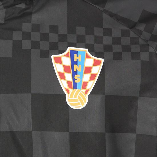 Kroatien All Weather Lite Regenjacke EM 2021 Herren, schwarz / anthrazit, zoom bei OUTFITTER Online