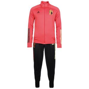 RBFA Belgien Trainingsanzug EM 2020 Herren, rot / schwarz, zoom bei OUTFITTER Online